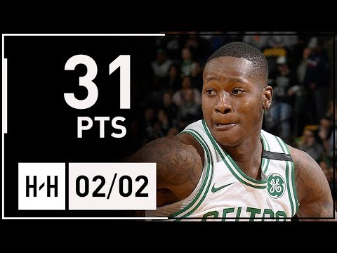Terry Rozier Full Career-HIGH Highlights Celtics vs Hawks (2018.02.02) - 31 Points, 7 Reb!