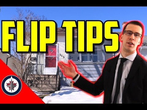 Real Estate Flipping Tips and Winnipeg Property Tour