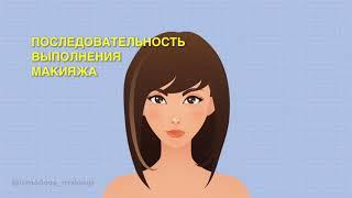 Анна Измайлова Этапы макияжа