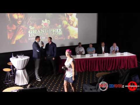 W5: Legends in Prague - Press Conference