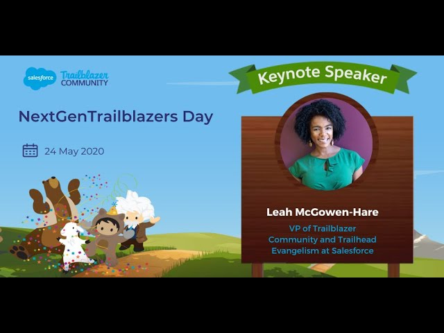 Keynote by Leah Mcgowen-Hare | NextGenTrailblazers Day-The Inaugural