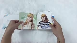Unboxing Girls' Generation 소녀시대 - Single Visual Dream