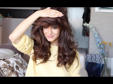 How to get Big Volumized hair!!