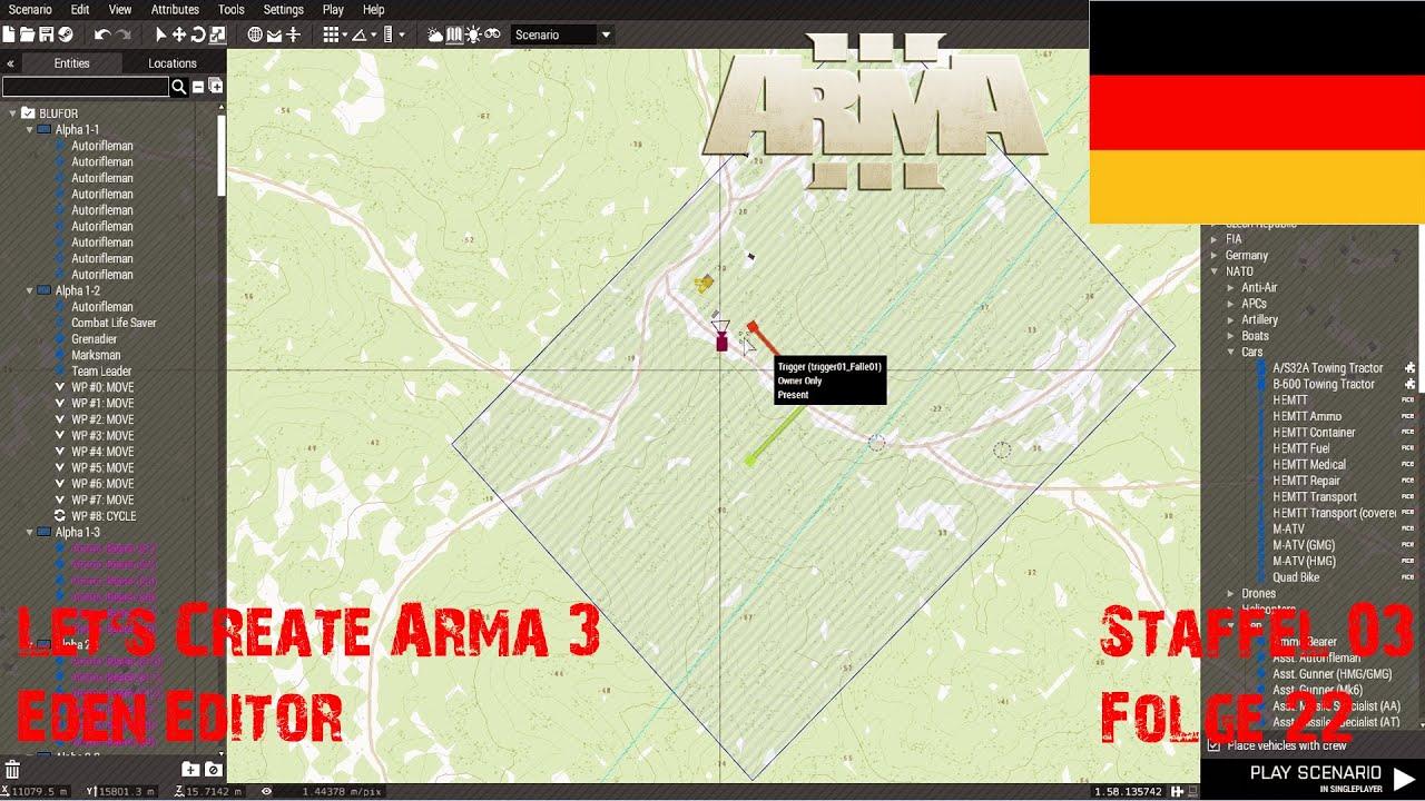 Arma 3 3d map editor german