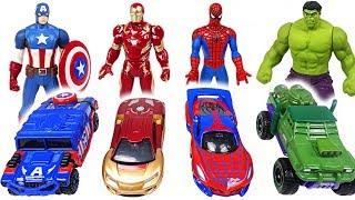 Paw Patrol! Let's play! Marvel Tomica and Metakore Hulk, Spider Man transform!   DuDuPopTOY