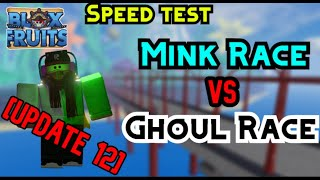 Blox Fruits - Ghoul Race VS Mink Race (WHICH IS THE FASTEST RACE?)