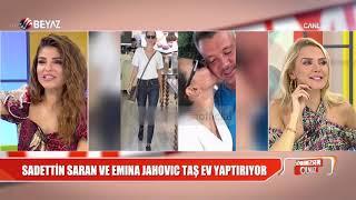Sadettin Saran ve Emina Jahovic ile ilgili Söylemezsem Olmaz'a gelen yeni istihbarat