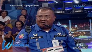 Wowowin: Traffic enforcer married the woman he caught jaywalking