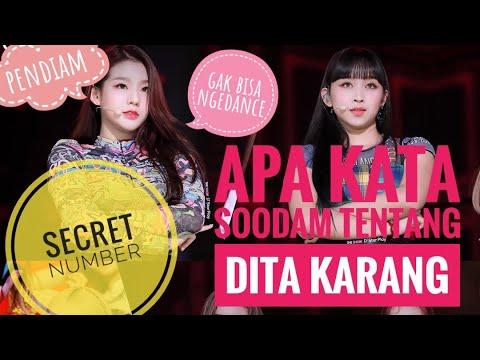 Apa kata SOODAM 'SECRET NUMBER' tentang DITA KARANG? - YouTube