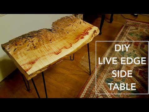DIY: How to Build a Live Edge Side Table
