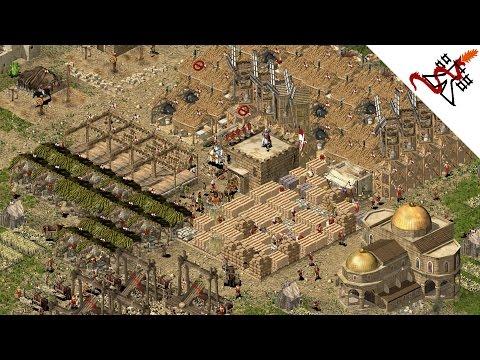 Stronghold Crusader HD - 1vs1 Sneaky vs Rusher | Multiplayer Gameplay