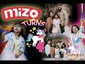 MIZO 4TH BIRTHDAY PARTY