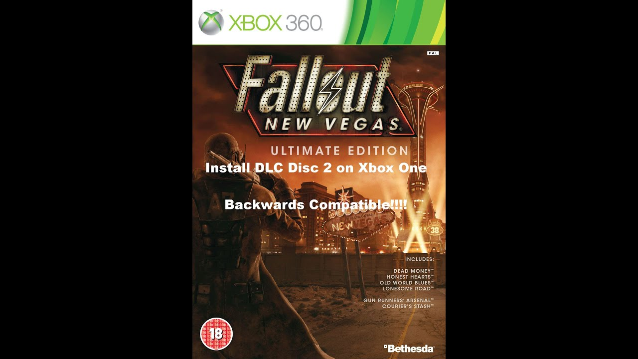 How to Install Fallout New Vegas Ultimate Edition DLC Disc 2 on Xbox