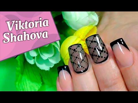 колготки дизайн ногтей фото