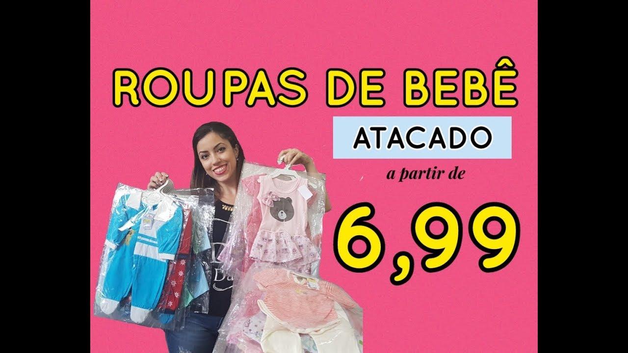 a855e7657 Roupas de Bebê no Atacado para Revenda - YouTube