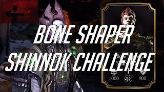 Mortal Kombat Mobile 4K LIVE - Bone Shaper Shinnok Challenge Elder Difficulty
