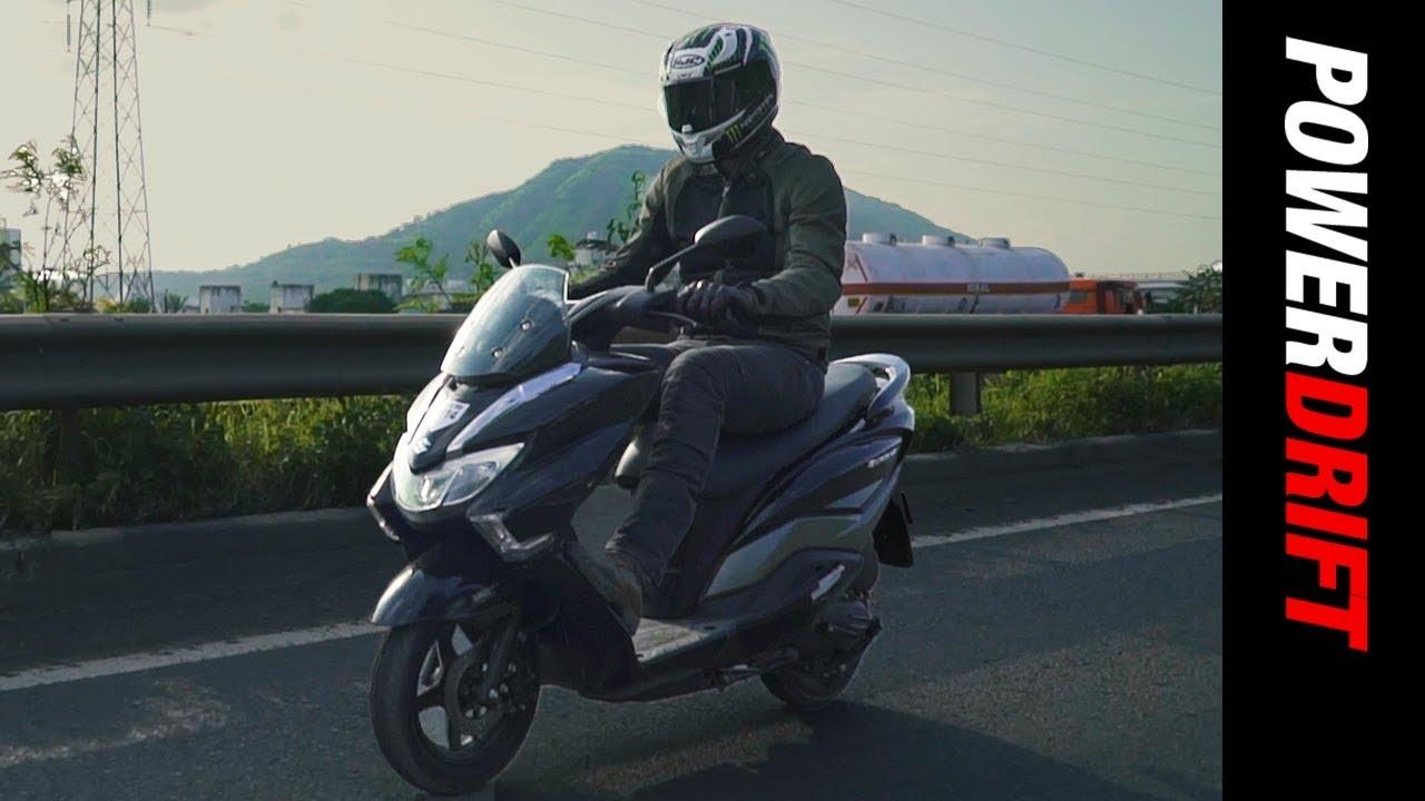 Suzuki Burgman Street Is This The Best 125cc Scooter Powerdrift