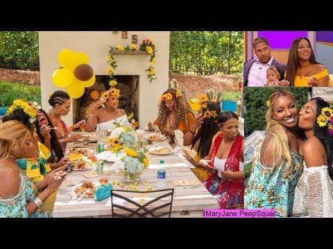 🍑NeNe Leakes Kenya Moore drama Marc Daly daddy home Porsha Williams