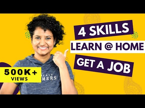 4 Useful Skills To Learn During Lockdown | Learn & Earn From Home | Get a Job