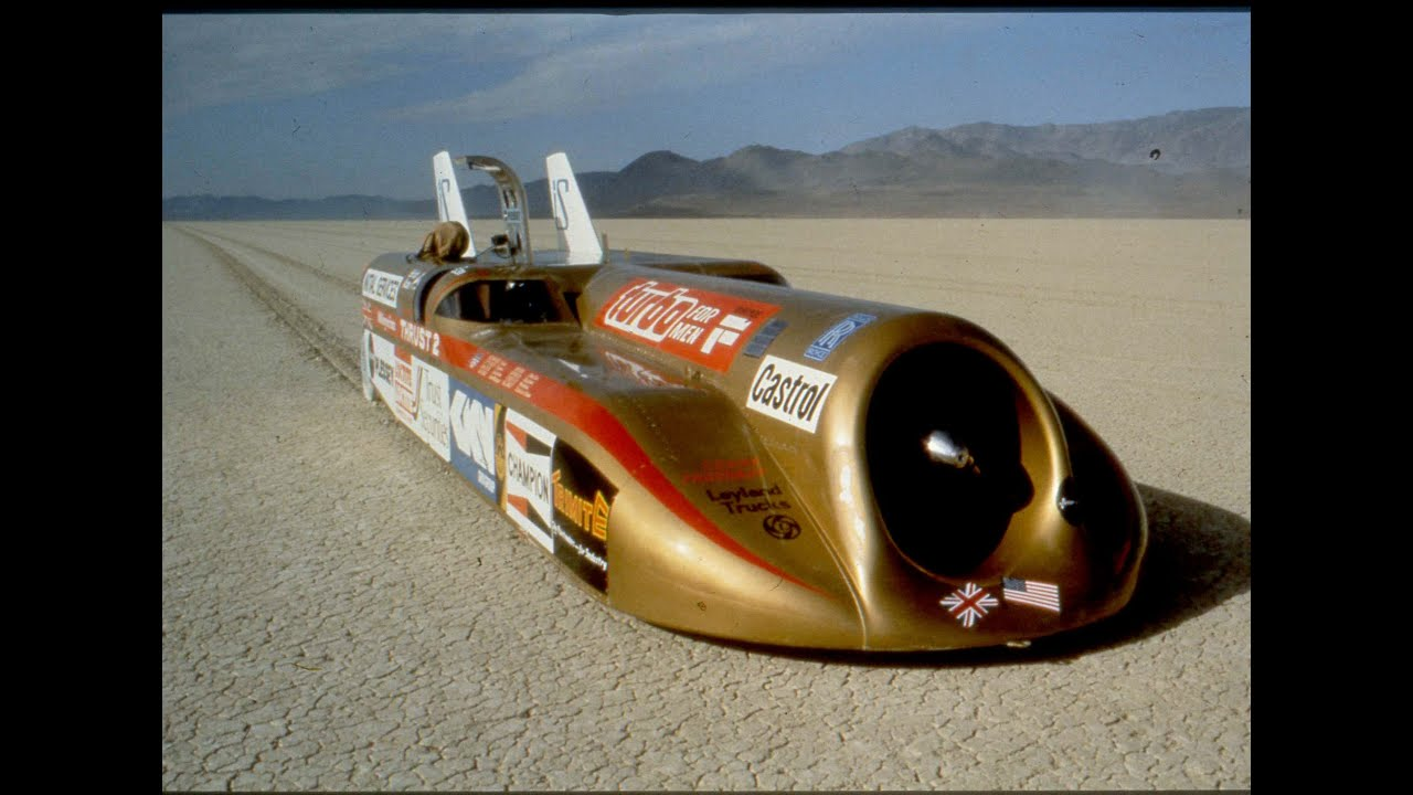 The World S Two Fastest Men On Driving At 633 Mph In