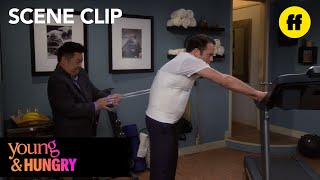 Young and Hungry | Week 3 Clip: Man Corset | Freeform