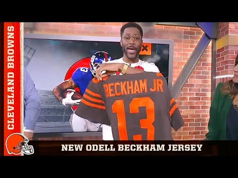 pretty nice 1e952 1f632 New OBJ Jersey Goes to Nate Burleson on Good Morning ...