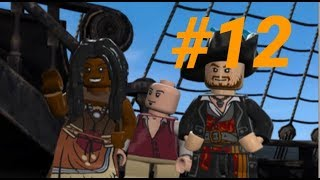 LEGO Pirates of the Caribbean #12 Davy Jones locker (walkthrough) Xbox one ( At Worlds End )