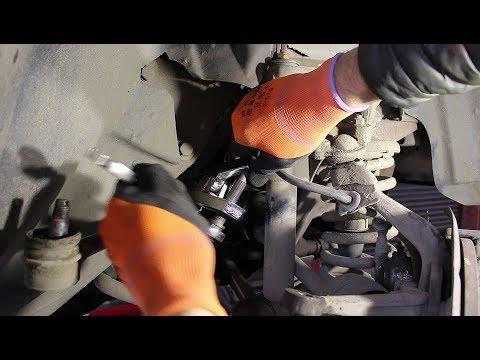 Замена средней рулевой тяги и пыльников наконечника на Chevrolet Niva 4х4 Шевроле Нива 2005 года