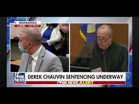 Derek Chauvin Sentenced To 22.5-Years