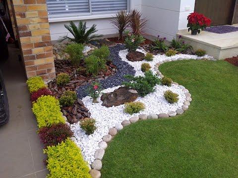 Украшение сада  Интересные идеи использования цветной гальки и камня на даче скачать