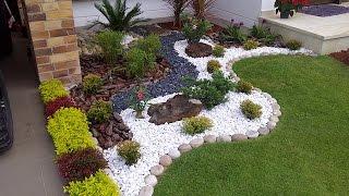 Камни на даче (54 фото) и в саду: бордюрные, искусственные, как разбить, рисунки из материала, новые идеи, фото и видео