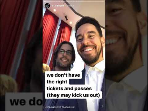 Linkin Park getting kicked out of the AMA's