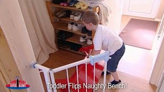 Toddler Flips Naughty Bench During Protest! | Supernanny