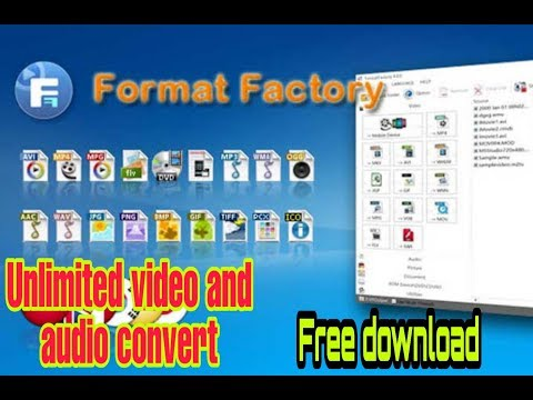 Best Video Converter Format Factory Free Download Latest Full Version **unlimited Converter**