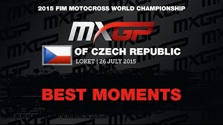 MXGP of Czech Republic MXGP Best Moments 2015 - motocross