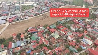 Dự án Bảo Long New City nhìn từ trên cao. Flycam Bảo long new city