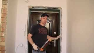 Как сделать откос из гипсокартона- своими руками! Видеоинструкция!!!(Пошаговая инструкция восстановления дверного откоса из гипсокартона., 2015-11-17T20:10:04.000Z)