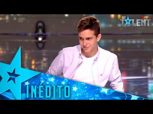 El TRUCO DE MAGIA de Pablo que ha hecho disfrutar a RISTO   Inéditos   Got Talent España 2021