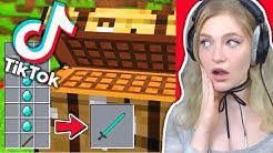 UNMÖGLICHE TIKTOK Minecraft HACKS ausprobieren!