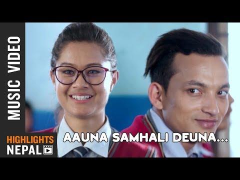 Aauna Samhali Deuna || New Nepali Pop Song 2018/2074 | Milan Surkheti Ft. Rezu, Rabin & Rajiv