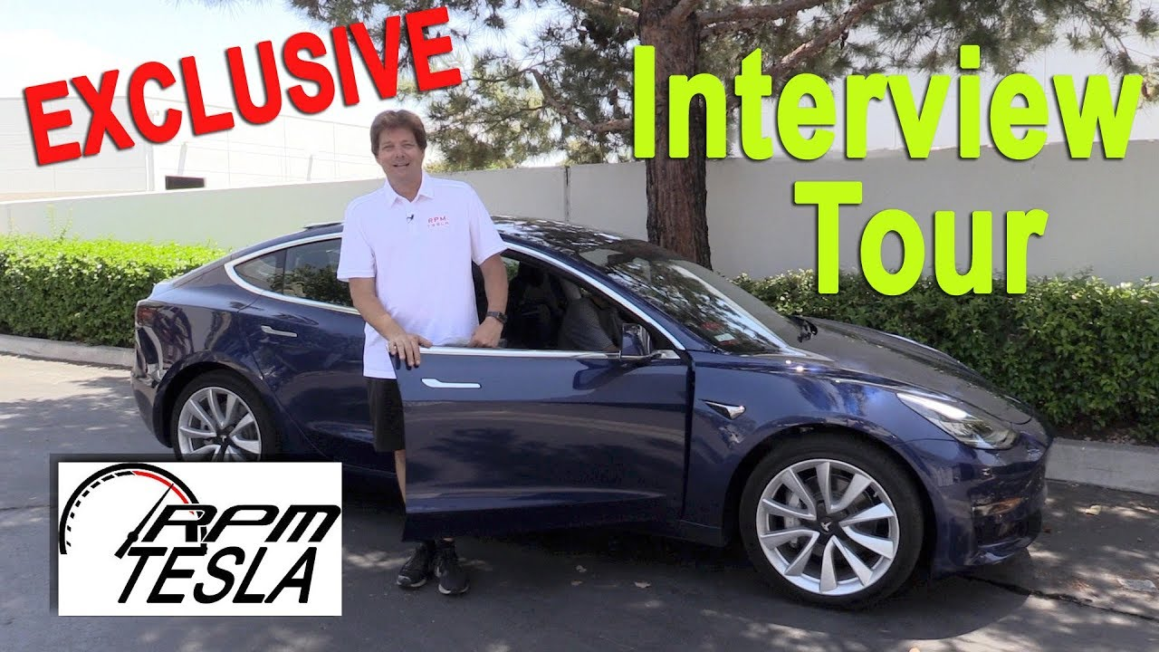 Tesla Model 3 Accessories at RPM TESLA!