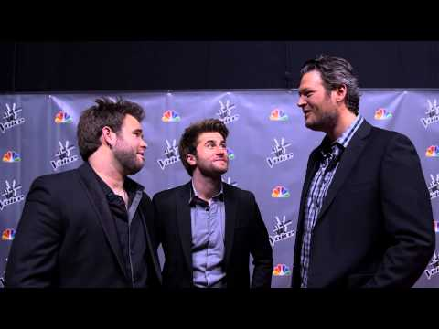 The Swon Brothers Behind The Scenes at The Voice