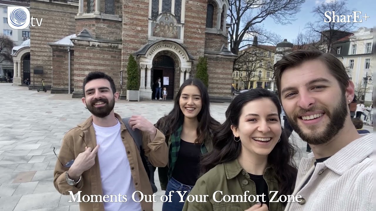 SHARE+ | Moments Out of Your Comfort Zone