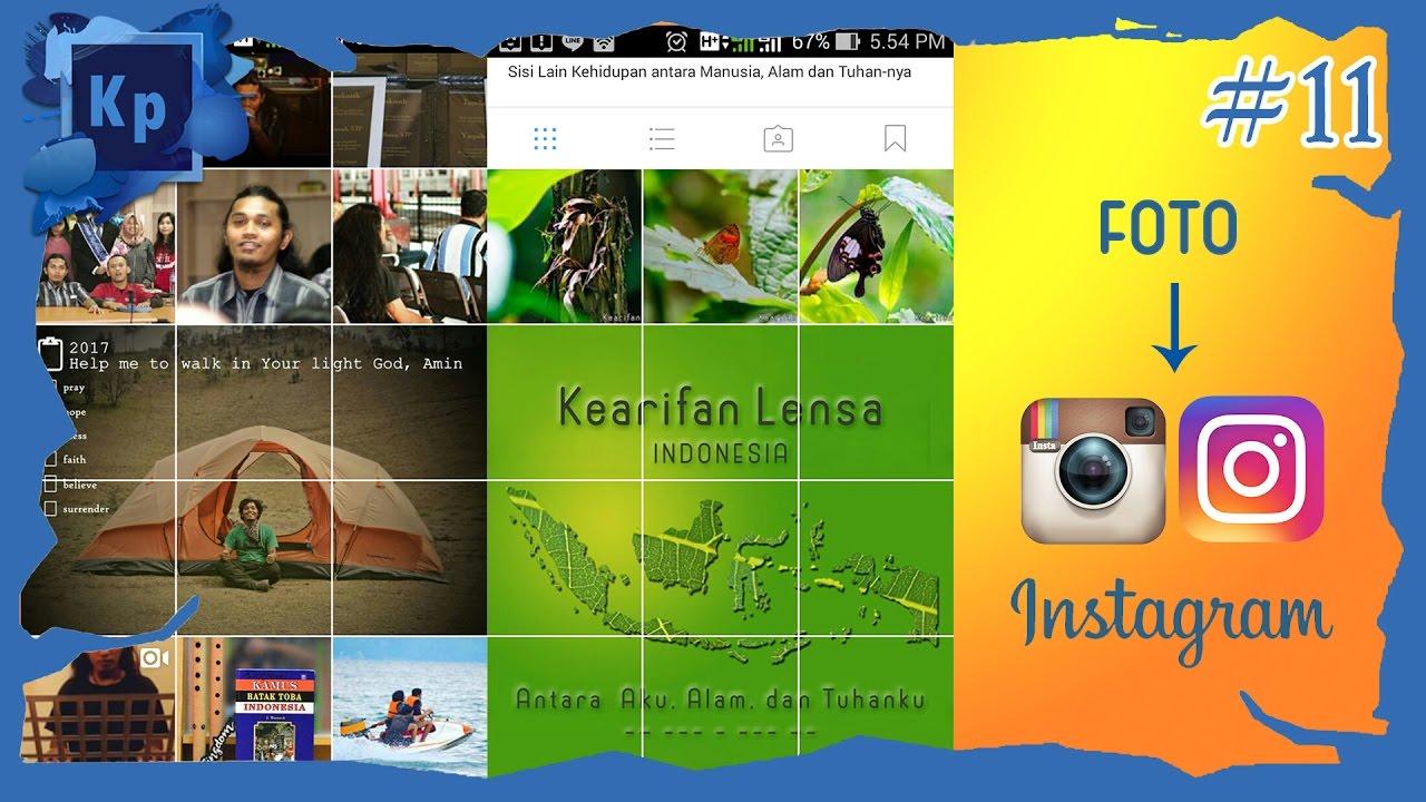 Cara Membuat 9 Potongan Foto di Instagram Dengan Adobe ...