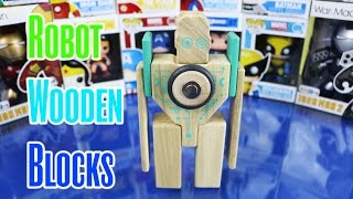New Robot Magnetic Wooden Blocks Tegu 2015 - Dc Toy Club