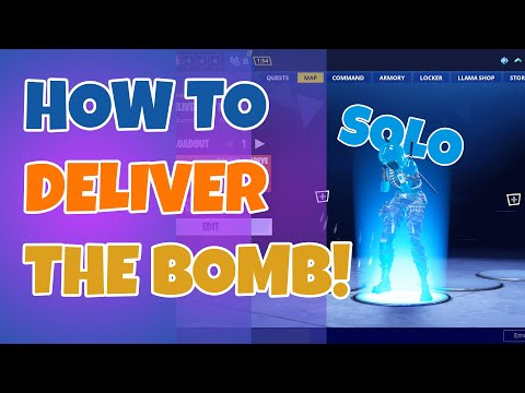How To Deliver The Bomb Solo In Fortnite STW (Save The World)