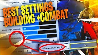 ABSOLUTE BEST CONTROLLER SETTINGS EVER! How To Become The BEST Fortnite Builder Ever!