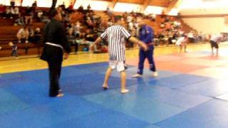 ju jitsu belt choke MICHAEL MORITZ vs. EARLY BRYANT