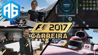 F1 2017 - O F1 MAIS COMPLETO DE TODOS OS TEMPOS! (Português-BR) TRAILER GAMEPLAY CARREIRA