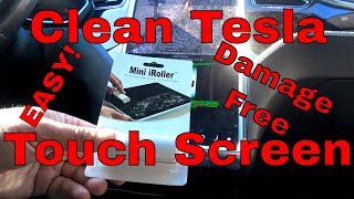 Tesla Screen Cleaner Mini I Roller Screen Cleaner Review